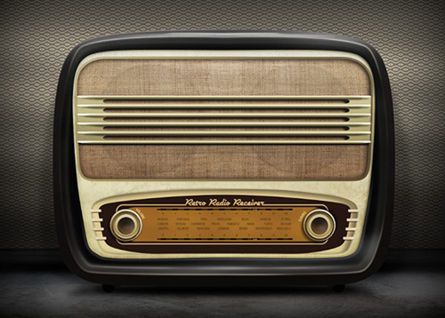 Draw a Realistic Retro Radio using Photoshop and Illustrator from Scratch