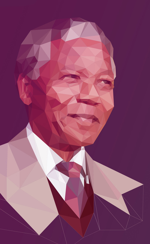 Low-Poly Portrait Illustrations for Inspiration - 1