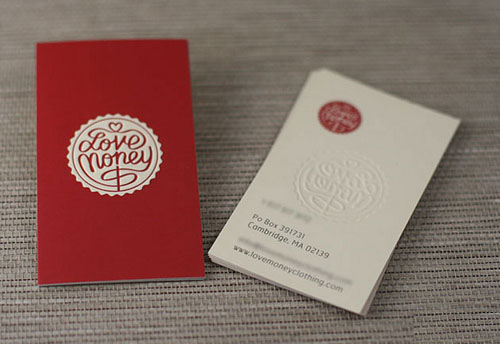 Letterpress Business Cards Design - 10