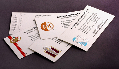 Letterpress Business Cards Design - 12