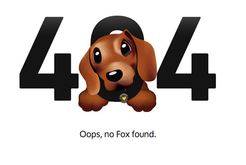 404 Page Designs – 32 Fresh Error Pages Examples - 13