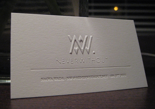 Letterpress Business Cards Design - 13