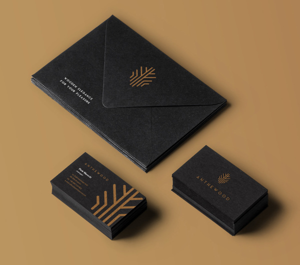 Anthewood Furniture Branding Business Card