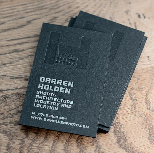 Letterpress Business Cards Design - 15