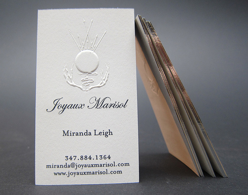 Letterpress Business Cards Design - 16