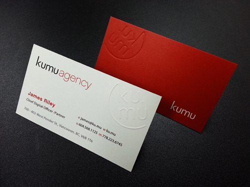 Letterpress Business Cards Design - 17