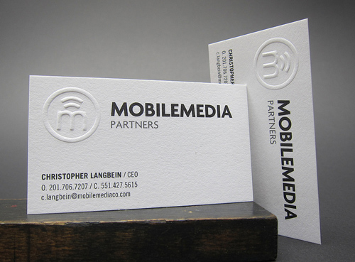 Letterpress Business Cards Design - 19