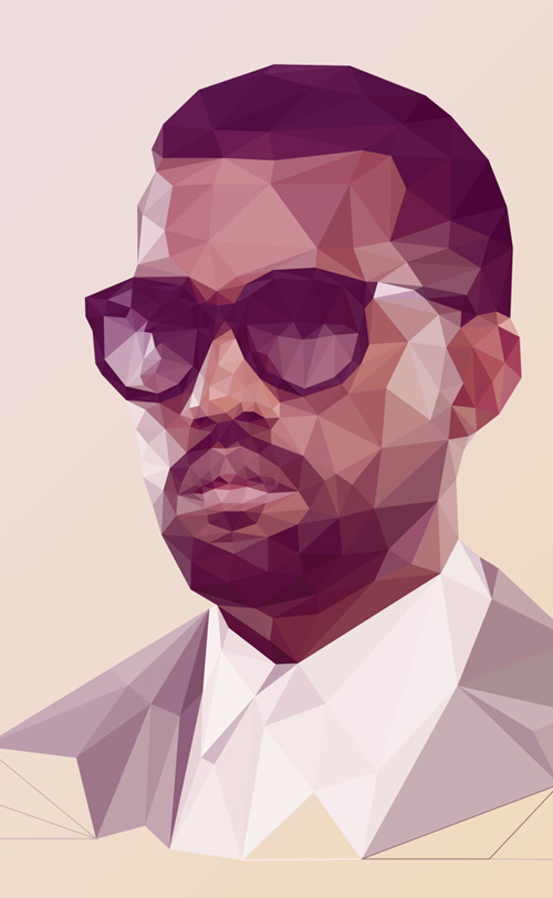 Low-Poly Portrait Illustrations for Inspiration - 2