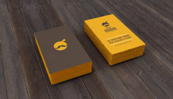 Restaurant Branding Business Card