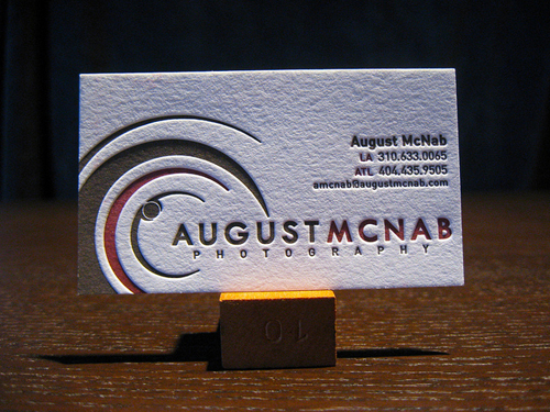 Letterpress Business Cards Design - 22