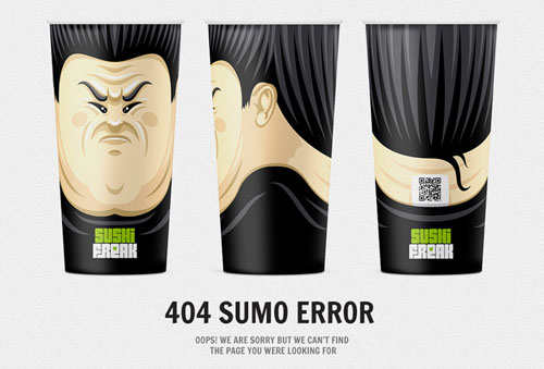404 Page Designs – 32 Fresh Error Pages Examples - 23