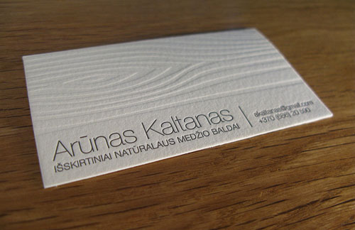 Letterpress Business Cards Design - 23