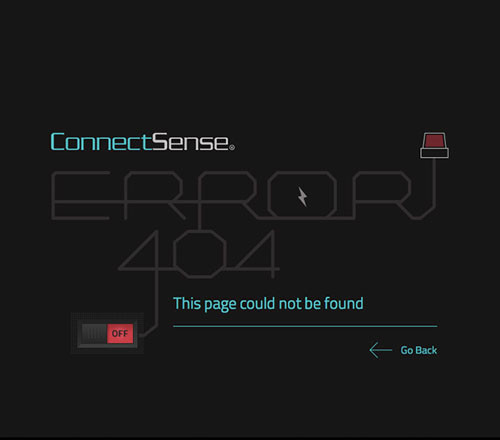 404 Page Designs – 32 Fresh Error Pages Examples - 3