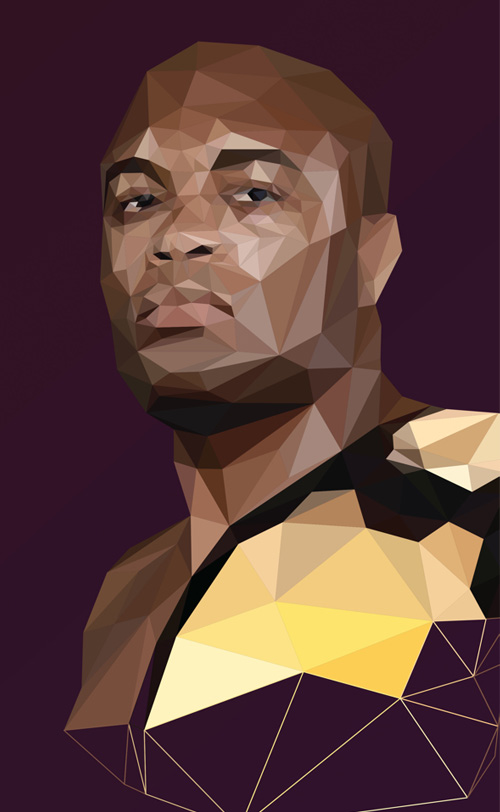 Low-Poly Portrait Illustrations for Inspiration - 3
