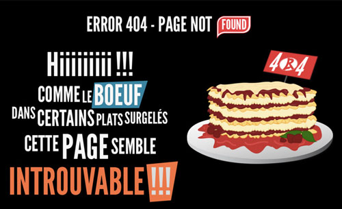 404 Page Designs – 32 Fresh Error Pages Examples - 31