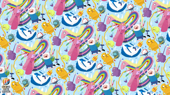 Adventure Time Pattern