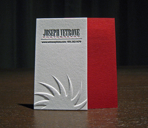 Letterpress Business Cards Design - 8