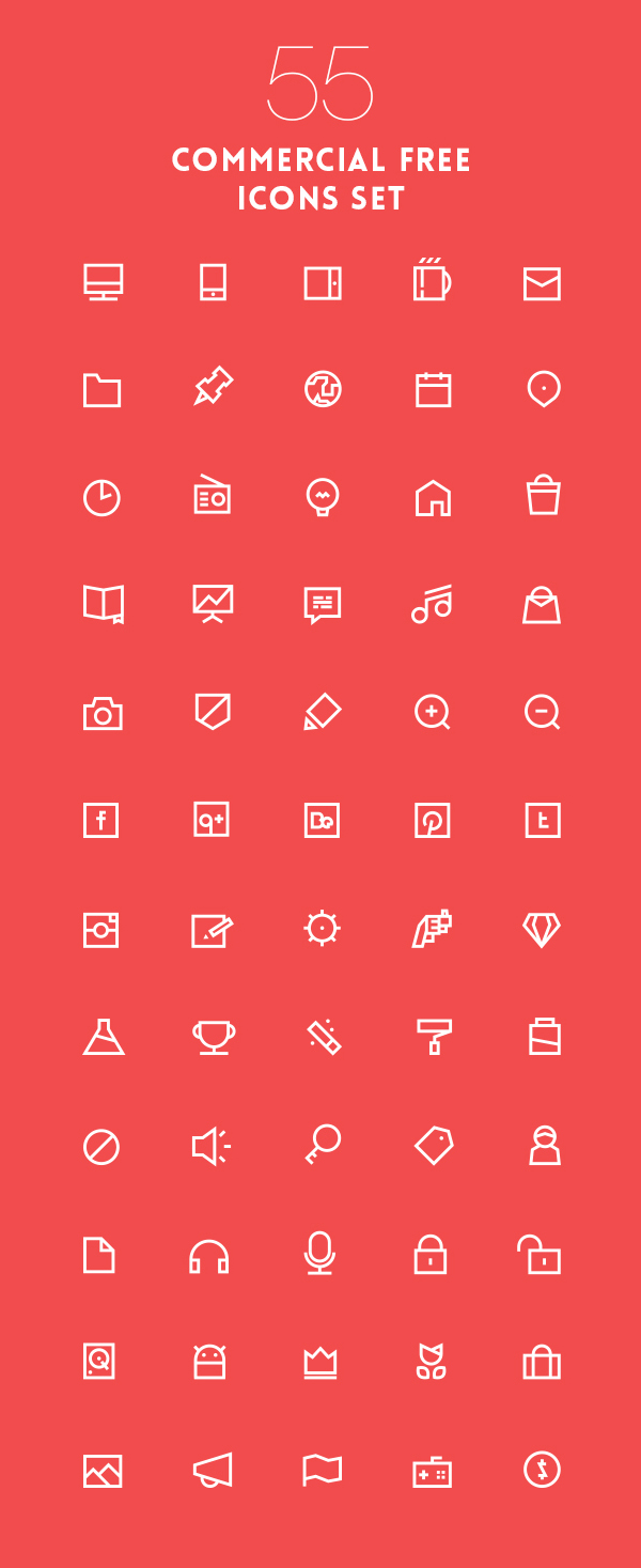 1000  free outline stroke icons for designers