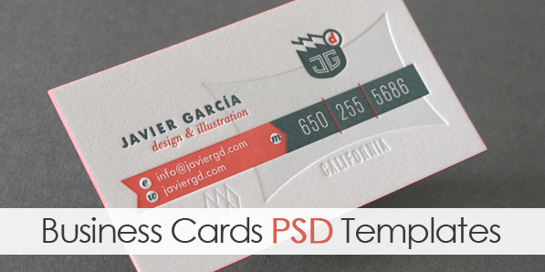 Creative Business Cards PSD Templates