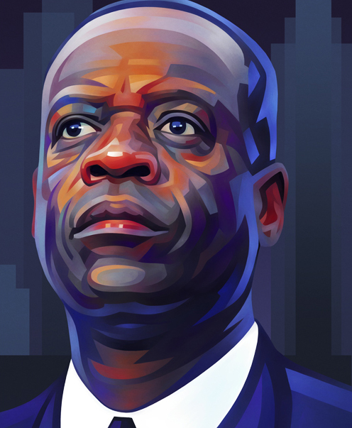 Kevyn Orr Portrait Illustration