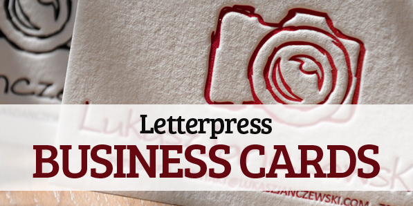 23 Creative Examples of Letterpress Business Cards Design