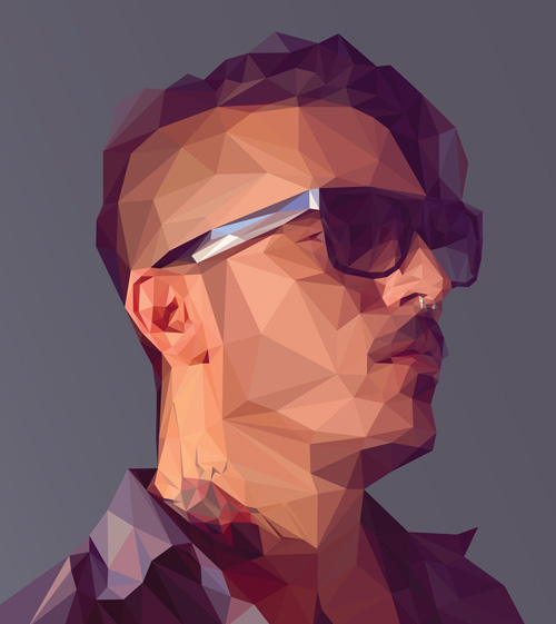 Create a Low-poly Portrait in Adobe Illustrator Tutorial