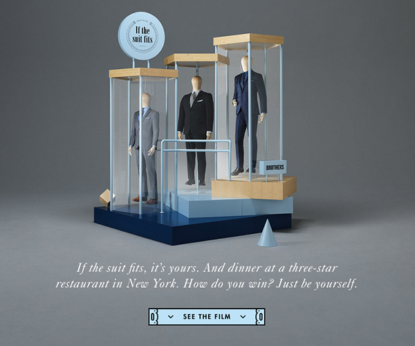 If the suit fits Responsive Website