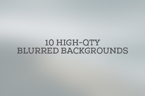 Blurred Backgrounds Mega Pack (40 Items)