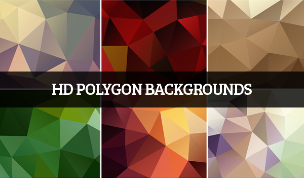 HD Polygon Backgrounds