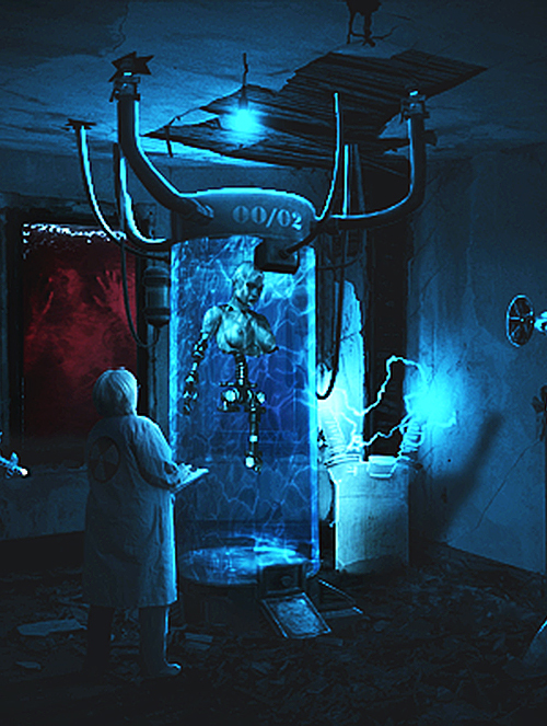 Create Dark Scientist Conceptual Photo Manipulation in Photoshop