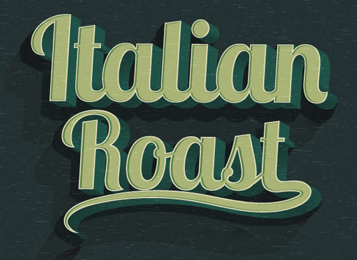 How to Create 3D Style Retro Text Effect Photoshop Tutorial