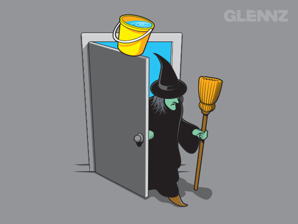 Wicked Witched T-Shirt Illustrations