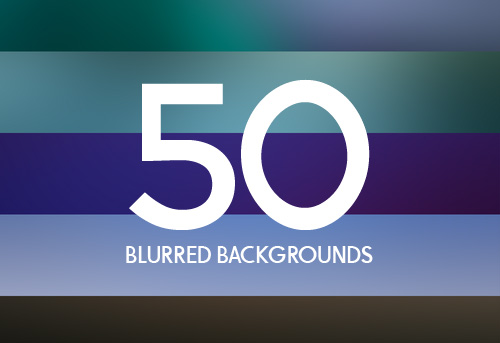 High-Res Blurred Backgrounds (50 Items)