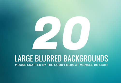 Large Blurred Backgrounds (20 Items)