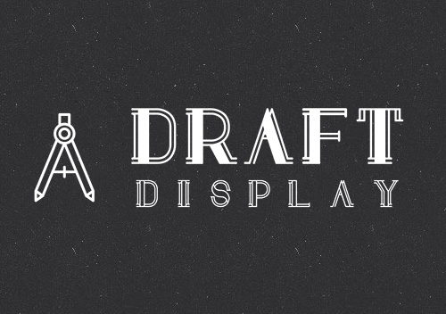 Draft Display free fonts