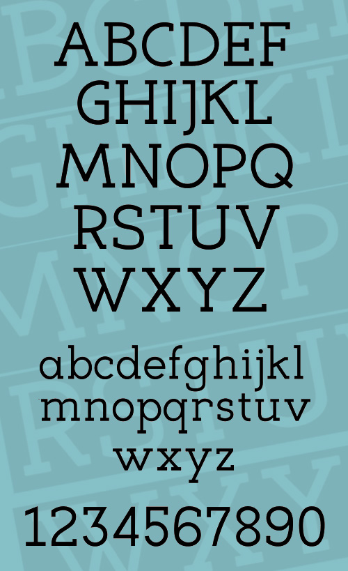 Eligible free font characters