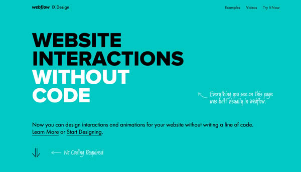 Flat Website Design Examples For Inspiration - 14