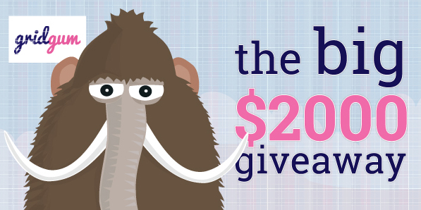 $2000 Giveaway From Gridgum For Submitting Your Responsive Themes