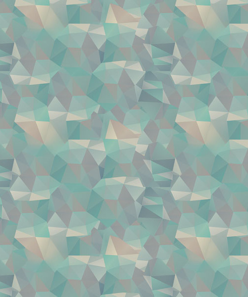 Abstract Low-Poly Pattern in Adobe Photoshop and Illustrator