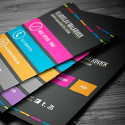 Post thumbnail of Modern Business Cards PSD Templates