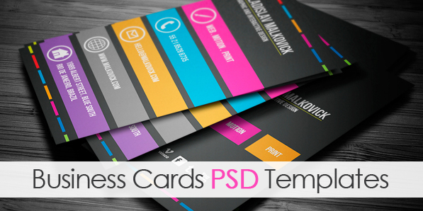Modern Business Cards PSD Templates