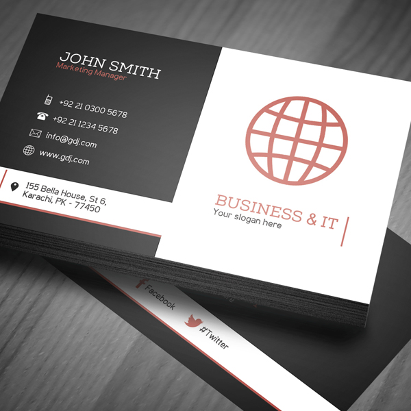 business card template psd freebies graphic design junction