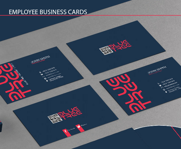 Employee business cards