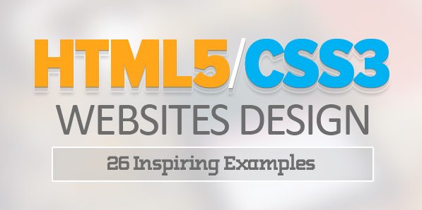 Best of 2014 - HTML5 and CSS3 Websites Design – 26 Inspiring Examples