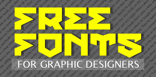 13 Latest Free Fonts for Graphic Designers