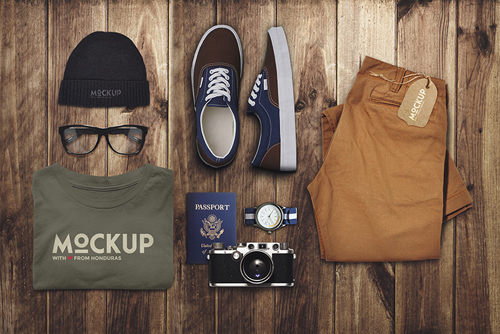 Travel Mock-up