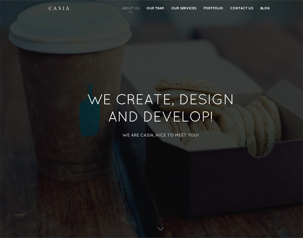 One Page Website Design - 3