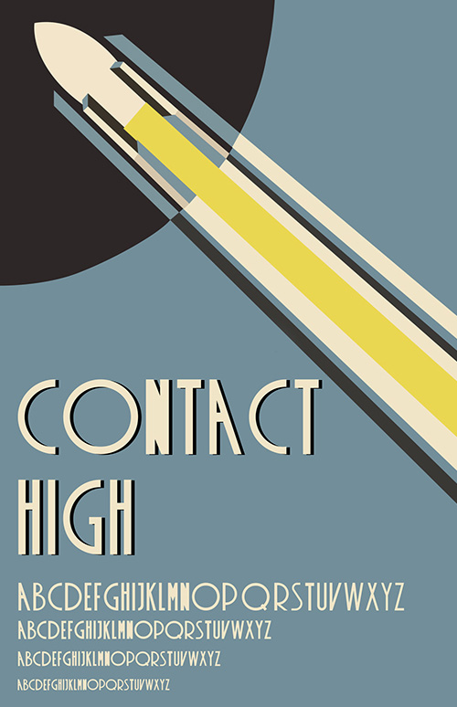 Contact High Free Fonts 2014