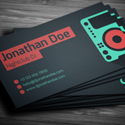 Post Thumbnail of Amazing DJ Business Cards PSD Templates