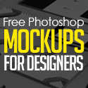 Post Thumbnail of 30 Free Photoshop PSD Mockups for Graphic Designers